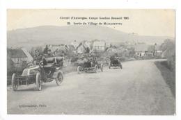 Circuit D'Auvergne - La Coupe GORDON-BENETT 1905  - Sortie Du Village De Massagettes -  L 1 - France