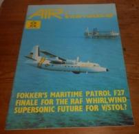 Air International. Volume 19. N°6. Décembre 1980. - Transports