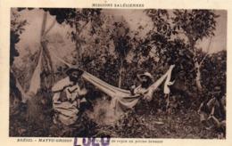 BRÉSIL : Un Peu De Repos En Pleine Brousse , Matto Grosso : Mission Salèsiennes - Cuiabá