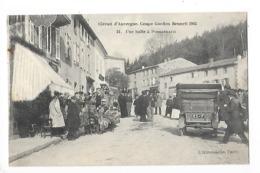 Circuit D'Auvergne - La Coupe GORDON-BENETT 1905  - Une Halte à Pontgibaud -  L 1 - France