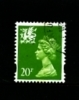 GREAT BRITAIN - 1996  WALES  20p. CB  FINE USED  SG W72 - Regionali