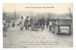 Circuit D'Auvergne - La Coupe GORDON-BENETT 1905  - M. Desson Capitaine De Route Rencontrant Le Coureur HEMERY -  L 1 - France