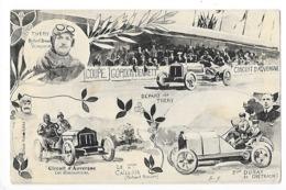 Circuit D'Auvergne - La Coupe GORDON-BENETT 1905 - Départ De THERY - Les éliminatoires, CALLOIS - DURAY -  L 1 - France
