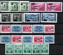 Istria E Litorale Sloveno Collezione 24 Val.diff  */MH VF/F - Occup. Iugoslava: Litorale Sloveno