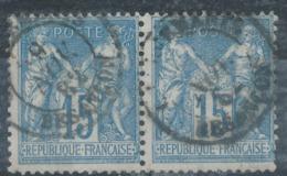 N°90 NUANCE ET OBLITERATION. - 1876-1898 Sage (Type II)