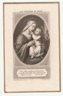 Les Caresses De Jésus - Devotion Images