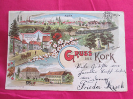 Gruss Aus  Kork 1899 - Germany