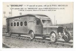 La MICHELINE, 1° Autorail Sur Pneus, Crée Par Le Pneu MICHELIN Le 10 Septembre 1931 - PARIS - DEAUVILLE   -  L 1 - France