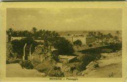 AFRICA - LIBIA / LIBYA - BENGASI / BENGHAZI - PAESAGGIO - POSTA MILITARE BENGASI - 1911  (BG4668) - Libya