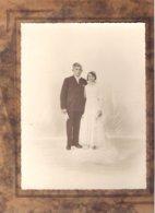 Couple De Mariés Photo L.Le Cornec Etables (CduN) - Personnes Anonymes