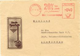 (k7131) Werbebrief Bund St. AFS Krefeld N. Amsterdam - BRD