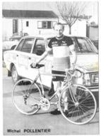 CP.....CYCLISME...MICHEL POLLENTIER...  BE....SCAN - Cyclisme