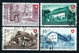 Suiza Nº 477/80 Usado Cat.20€ - Used Stamps
