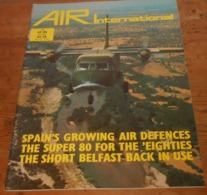 Air International. Volume 18. N°6. Juin 1980. - Transports