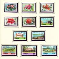 ANTIGUA  -  1981 Independence Overprints Set Unmounted/Never Hinged Mint - Antigua En Barbuda (1981-...)