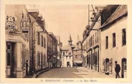 29 - ROSPORDEN : La Rue Haute ( Pub Murale : KODAKS - Film LUMIERE ) CPA Village (7.600 Habitants ) Finistère  Bretagne - Andere Gemeenten