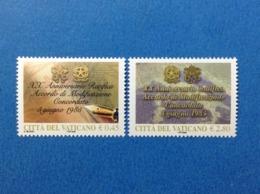 2005 VATICANO FRANCOBOLLI NUOVI STAMPS NEW MNH** Concordato Tra Santa Sede Ed Italia - Unused Stamps