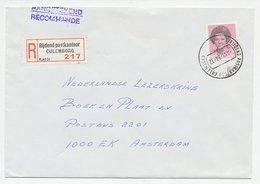 Em. Beatrix Aangetekend Culemborg Rijdend Postkantoor 1984 - Periode 1949-1980 (Juliana)
