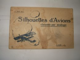 Aviation 1914 1918 :  Carnet De Silhouettes  1917 - Books, Magazines  & Catalogs