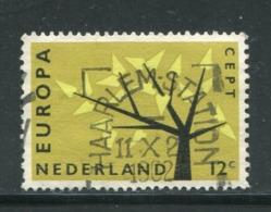 PAYS-BAS- Y&T N°758- Oblitéré (Europa) - 1962