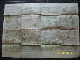 Topografische / Stafkaart Van Turnhout (Oostmalle Westmalle Wuustwezel Meer Minderhout Wortel Hoogstraten) - Cartes Topographiques