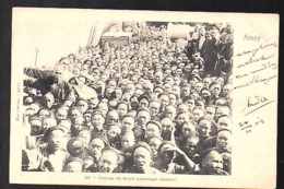 1906 Coolies On Board Of Passenger Steamer > Ligne > Hong Kong  Grootrond WIJDENS Holland (21-30) - Cina