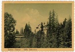 BUTTRIO - UDINE - VILLA BELVEDERE - 1955 - Vedi Retro - Udine