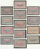 Cote Des Somalis N° 6 A 18 Avec Charniérés 17 ** Fraicheur Postale Grand Bord De Feuille - Costa Francesa De Somalia (1894-1967)
