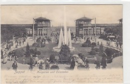 Zoppot - Kurgarten - Deutsche Frankatur - 1902            (A-115-190109) - Danzig