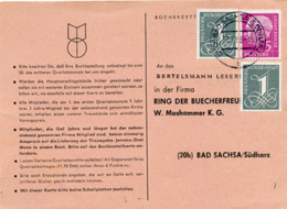 (k7136) Werbekarte Bund St. Bad Sachsa Bücherzettel - [7] Repubblica Federale