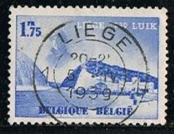 BELGIUM-BELGIQUE 1938 Y&T N°487 Water Exhibition - Gebruikt
