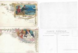 CARTOLINA PUBBLICITARIA POST CARD CARTE POSTALE  BISCUITS OLIBET - Advertising