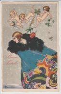 Cartolina - Postcard /   Non Viaggiata / Unsent -  /  Donnina - Buon Natale - Women