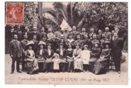 ESPERANTISTA ASOCIO TULONA ESPERO (19 DE MAJO 1912)  (carte Animée) - Evénements