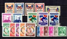 Dominicaine Cinq Bonnes Séries Neufs * 1937/1946. B/TB. A Saisir! - Dominikanische Rep.