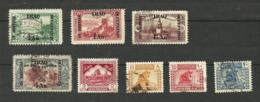 Irak N°27 à 29, 32, 128, 130, 132, 136 Cote 3.25 Euros - Irak