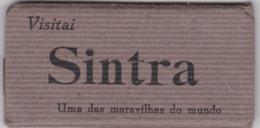 PORTUGAL CARNET - SINTRA - 15  VIEWS - 10 CM X 4,7 CM - Lisboa