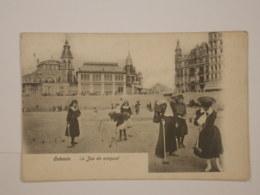 Ostende : Le Jeu De Croquet - Oostende