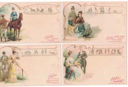 CARTOLINA PUBBLICITARIA POST CARD CARTE POSTALE  BISCUITS OLIBET - Pubblicitari