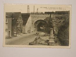 Jemelle : Monument Aux Morts Et Viaduc Du Chemin De Fer - Rochefort