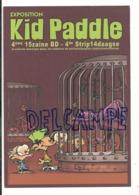 Publicité. Exposition Kid Paddle. Carte Boomerang - Danse