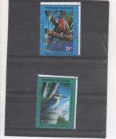 POLYNESIE Française - Oiseaux : Martin Chasseur (Pamotu Halcyon Gambieri), Lori De Kuhl (Vini Kuhlii) - Polynésie Française