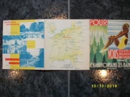 Venez à Chaudfontaine-les-Bains - Dépliants Touristiques