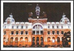 Spagna/Spain/Espagne: Intero, Stationery, Entier, Palazzo Delle Poste, Post Office Building, Bâtiment Bureau De Poste - Post