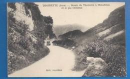 39 - THOIRETTE - ROUTE DE THOIRETTE À MATAFELON - PIC OLIFERNE - VOITURES - France