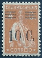 Portugal 1928-29 Ceres Surcharged In Black - Ceres Com Sobertaxa Block Of  MLH  See Note - Correo Postal