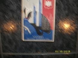 Stadsgids Van Antwerpen Met Stadsplan - 1954 - Dépliants Touristiques