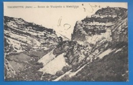 39 - THOIRETTE - ROUTE DE THOIRETTE À MATAFELON - France