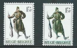 België 1293 + 1293a - Variétés Et Curiosités