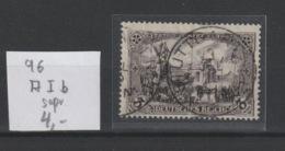 DR MNr. 96A I B Gest. Geprüft - Used Stamps